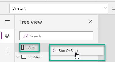 """Execute App """"OnStart"""" trigger manually"""
